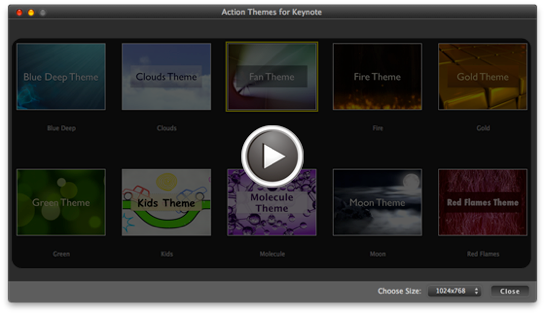 action themes for keynote allow you to create extraordinary