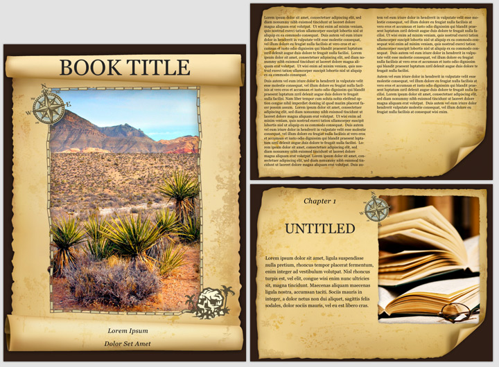 E-book Templates for Apple\'s iBooks Author!