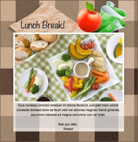 Team Lunch Invitations feodtifettk